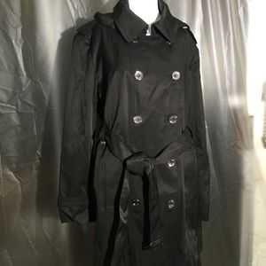 CALVIN KLEIN WOMENS DOUBLE BREASTED RAINCOAT NWT